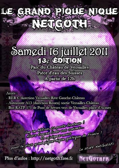 Venez nombreux le 16 juillet 2011!